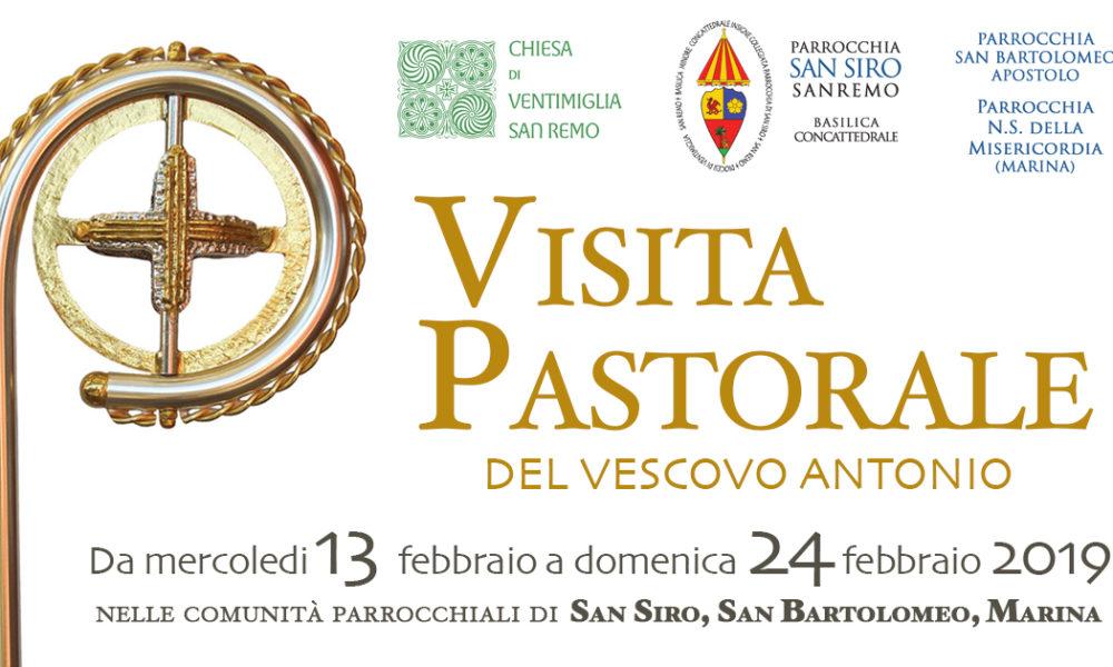 Ecco il programma della visita pastorale del Vescovo Antonio.
