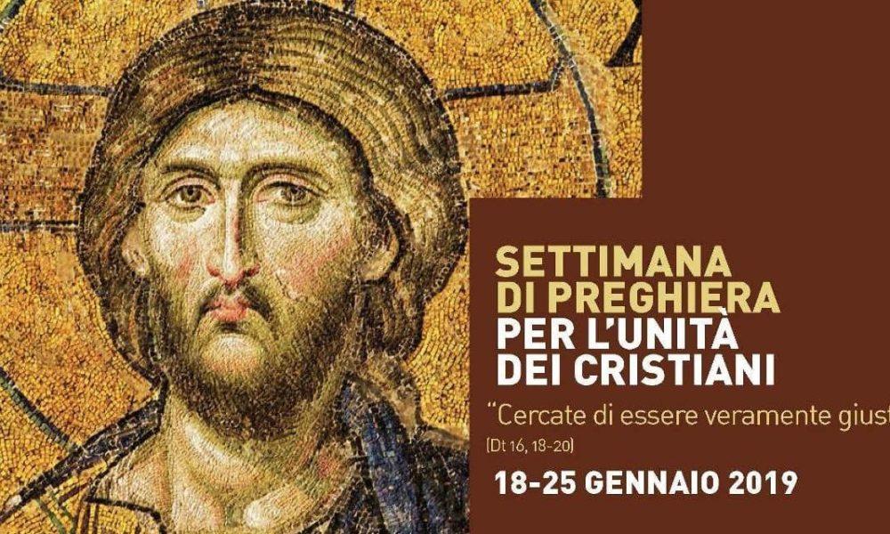 Dal 18 al 25 gennaio la settimana ecumenica. Venerdi 25 la Veglia.
