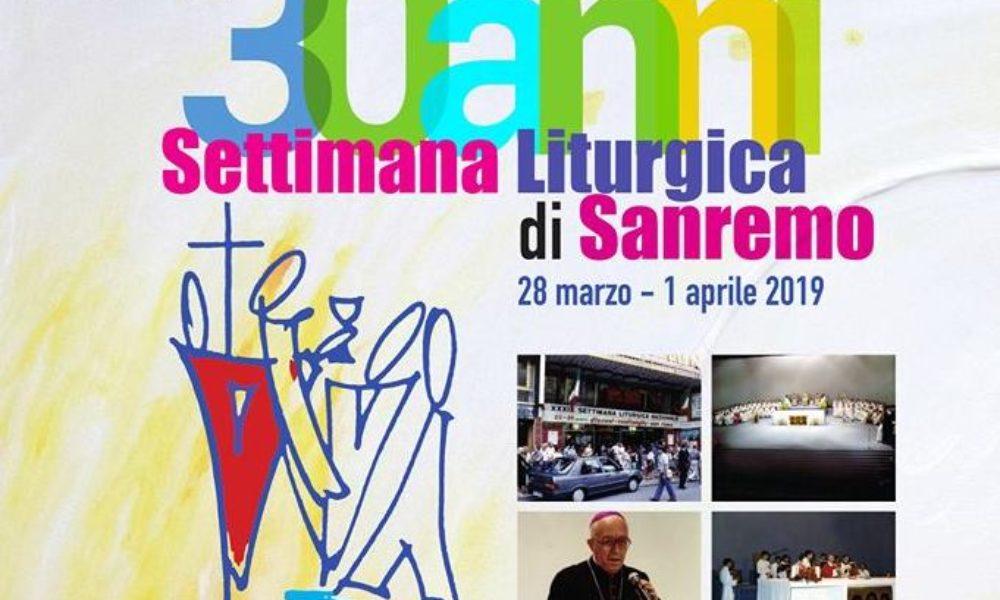 Celebrazione del trentennale della settimana liturgica a Sanremo