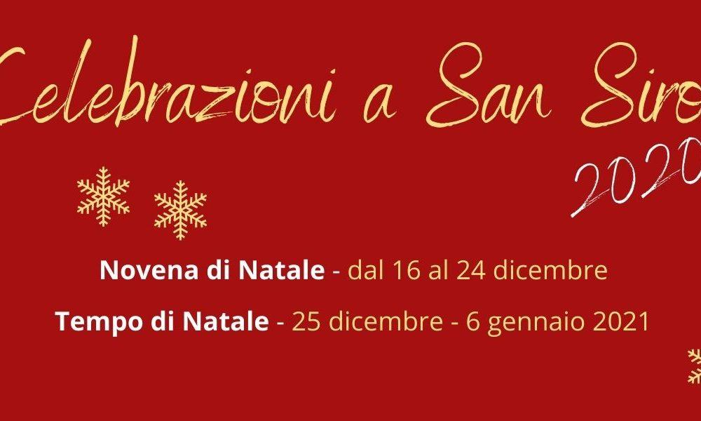 Novena e Tempo di Natale a San Siro
